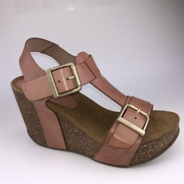Laura high wedge cork