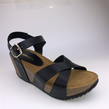 Bianca wedge cross cork
