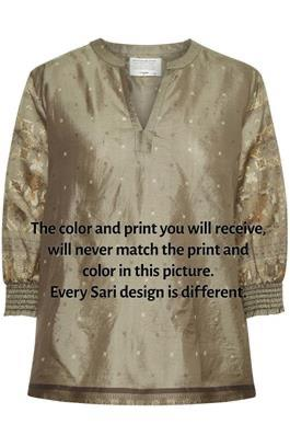 SariCR Shirt Silk