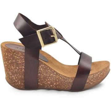 Ane High wedge cork sandal