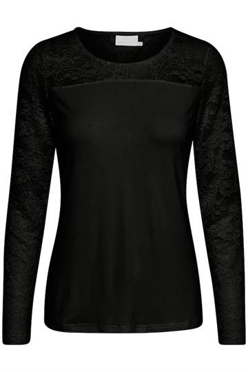 Lacy Roundneck Blouse