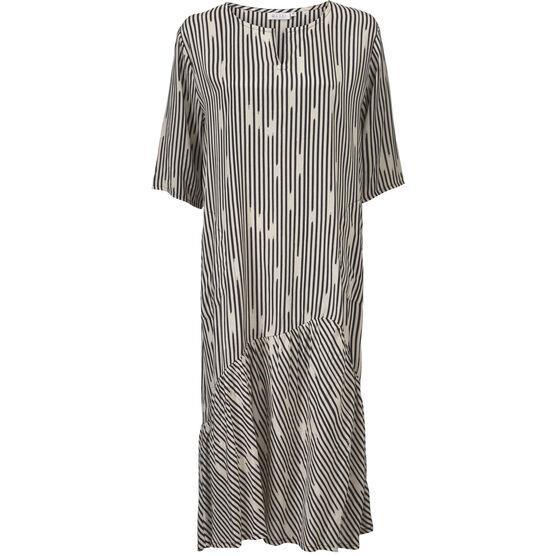 masai kjole sort hvid
