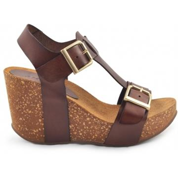 Laura high wedge cork sandal